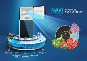 Tủ lạnh Aqua Navi Cooling – một ngăn đông, 5 cách dùng