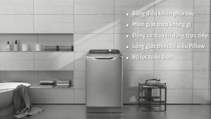 Máy giặt lồng đứng – Bảng điều khiển sau