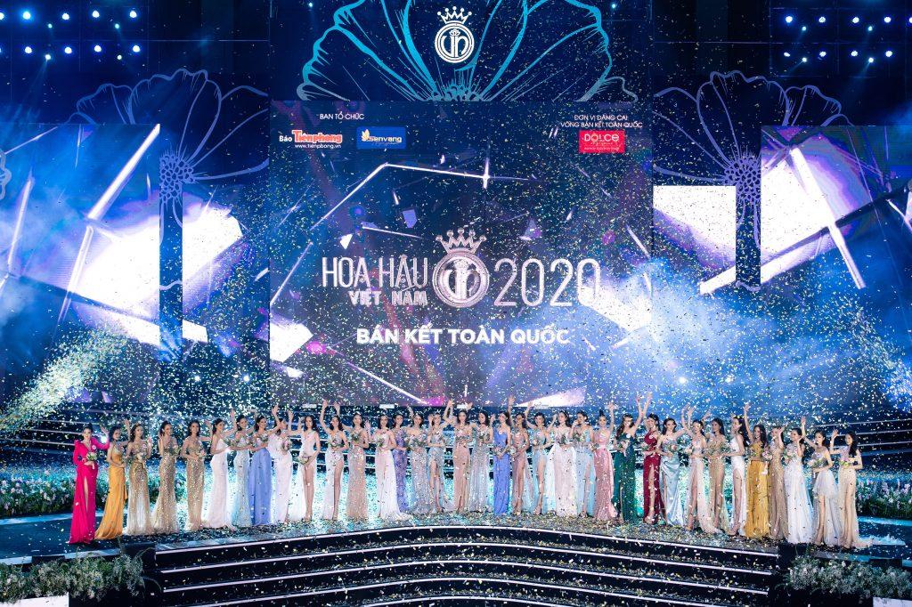 Top 35 thí sinh bước tiếp vào Chung kết toàn quốc Hoa hậu Việt Nam 2020